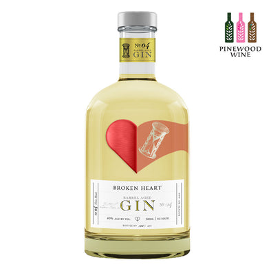Broken Heart - Barrel Aged Gin 500ml - Pinewood Wine