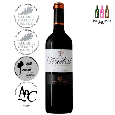 Chateau Terrebert, AOC Cotes du Marmandais 2018, 750ml