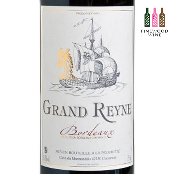 Grand Reyne [Full Case], AOC Bordeaux, 2018, 750ml x 6 - Pinewood Wine