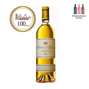 Chateau d'Yquem, Sauternes, 2001 375ml - Pinewood Wine