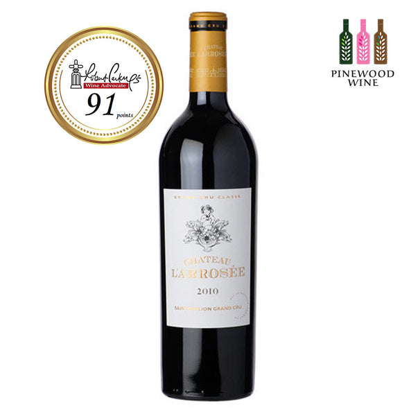 Chateau L'Arrosee, Saint-Emilion, 2010 750ml - Pinewood Wine