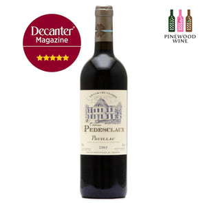 Chateau Pedesclaux, Pauillac 5eme Cru, 2005, 750ml - Pinewood Wine