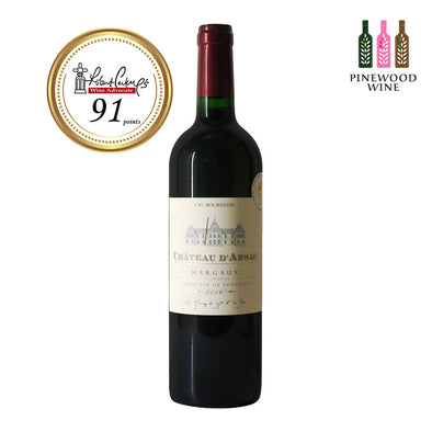 Chateau d'Arsac, Margaux, 2016, 750ml - Pinewood Wine