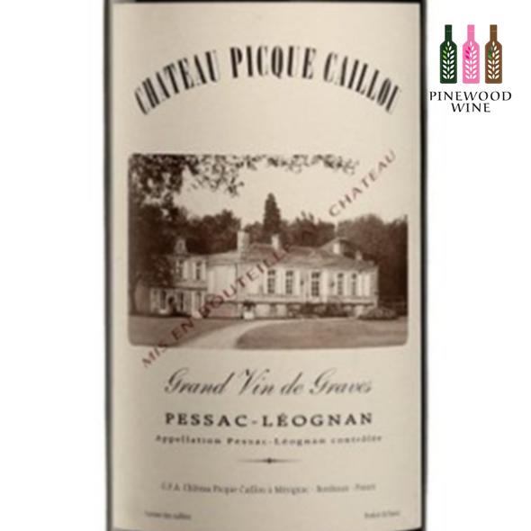 Chateau Picque Caillou, Pessac-Leognan, 2011, 750 ml - Pinewood Wine