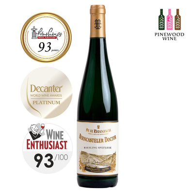 Dr. H. Thanisch Berncasteler Doctor, Riesling Spatlese, Mosel, 2015, 750ml - Pinewood Wine