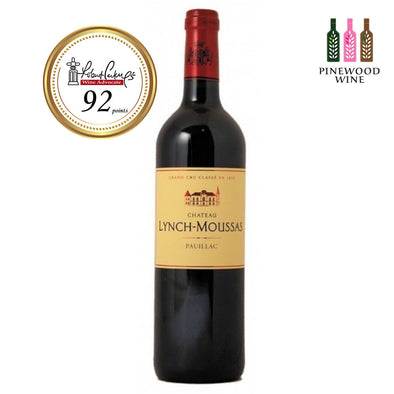 Chateau Lynch Moussas, Pauillac 5eme Cru, 2015, 750ml - Pinewood Wine