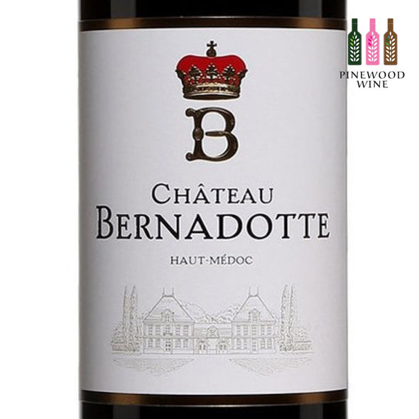 Chateau Bernadotte, Haut Medoc, 2015, 750ml - Pinewood Wine