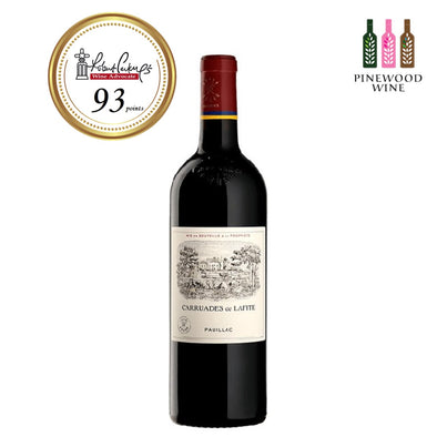 Chateau Lafite Rothschild 2nd Wine - Carruades de Lafite, Pauillac 1er Cru, 2003, 375ml - Pinewood Wine