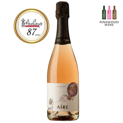 AIRE Rosé Brut Nature Cava 2015, 750ml - Pinewood Wine