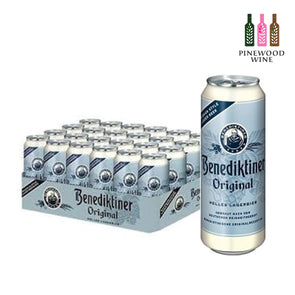 Benediktiner Original (Hell) 500ml Can x 24/cs - Pinewood Wine