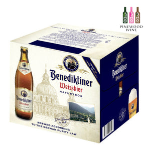 Benediktiner Weissbier 500ml Bottle x 12/cs - Pinewood Wine