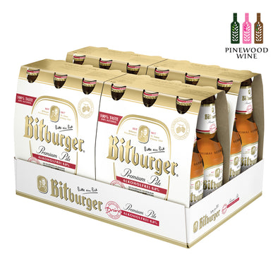 Bitburger Drive Premium Pilsner 330ml Bottle x 24/cs