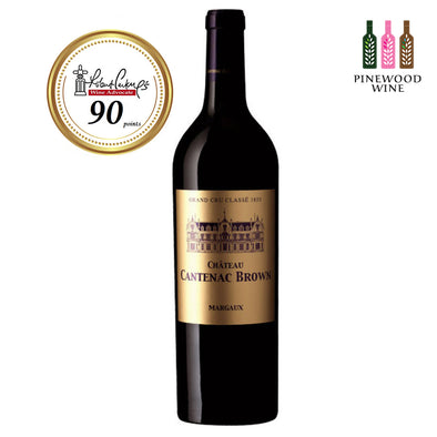Cantenac Brown Margaux 3eme Cru 2000 (OWC), RP 90 750ml - Pinewood Wine