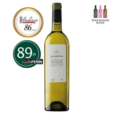 CA N'ESTRUC Blanc 2018 750ml - Pinewood Wine