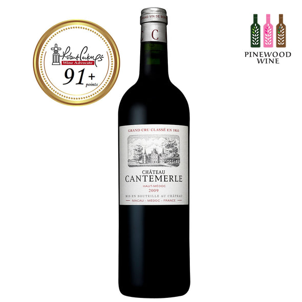 Chateau Cantemerle, Haut Medoc, 2009 (OWC), RP 91+ 750ml - Pinewood Wine