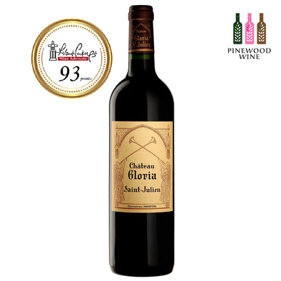 Chateau Gloria, Saint Julien 2010 (OWC), RP 93 750ml - Pinewood Wine