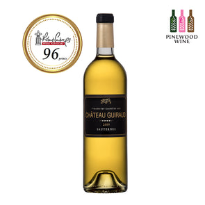 Chateau Guiraud - Sauternes 1er Grand Cru 2009 (OWC), 375ml, NM 96