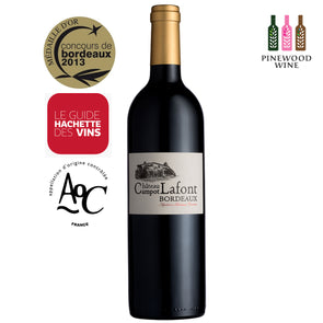 Chateau Campot Lafont, AOC Bordeaux 2017, 750ml - Pinewood Wine