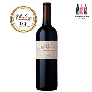 Chateau Les Gravieres St Emilion Grand Cru 2009 (OWC), RP 93 750ml - Pinewood Wine