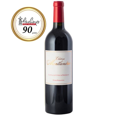 Chateau Montlandrie, Castillon Cotes de Bordeaux, 2011, RP 90 750ml - Pinewood Wine