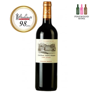 Chateau Saint-Pierre, Saint Julien 2009, RP 98 750ml - Pinewood Wine