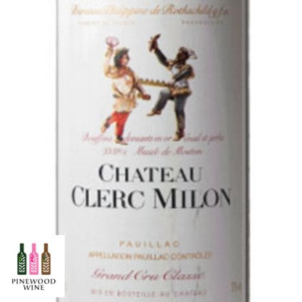 Clerc Milon Pauillac 5eme Cru 2012 (OWC) 750ml - Pinewood Wine