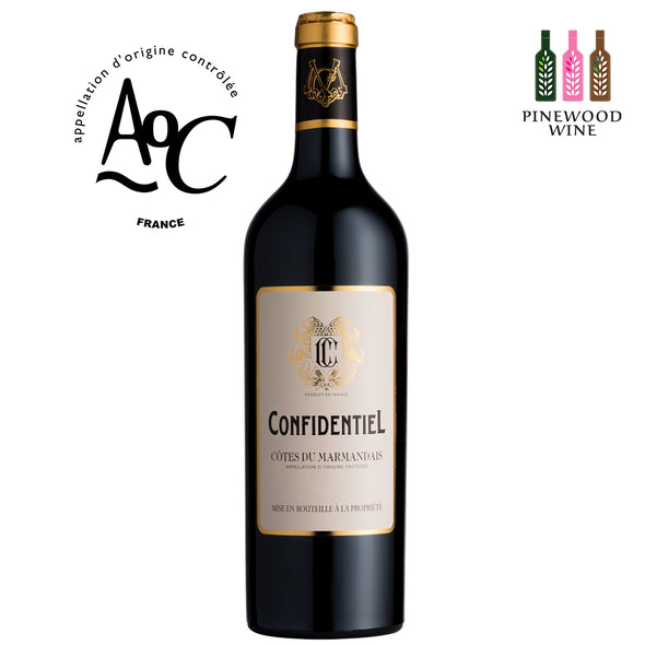 Confidentiel, AOC Cotes du Marmandais 2018, 750ml - Pinewood Wine