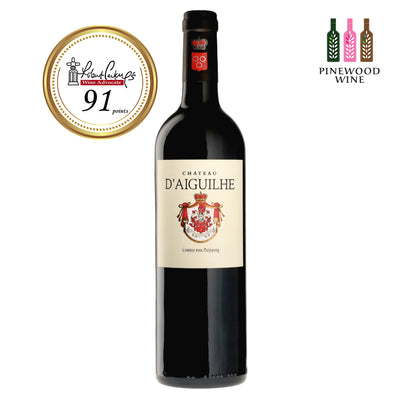 Chateau d'Aiguilhe 2010 (OWC), RP 91 750ml - Pinewood Wine