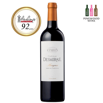 Chateau Desmirail, Margaux Grand Cru 2009 (OWC), NM 92 750ml - Pinewood Wine