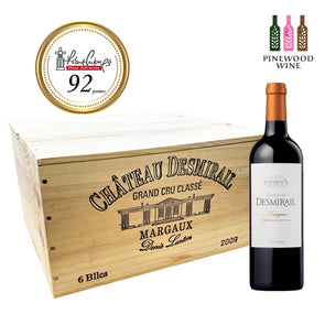 Chateau Desmirail, Margaux Grand Cru 2012 (OWC), NM 92, 750ml x 6