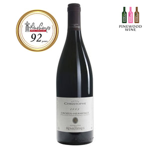 Domaine des Remizieres - Cuvee Christophe Crozes Hermitage, Rhone 2009, RP 92 750ml - Pinewood Wine