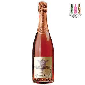 Doudet Naudin - [Limited Edition] Cremant de Bourgogne Rose Brut 750ml - Pinewood Wine