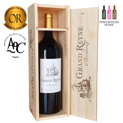 Grand Reyne, AOC Bordeaux, 2018 Magnum 1.5L (Wooden Case)