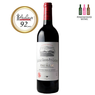 Grand Puy Lacoste Pauillac 5eme Cru 2006 (OWC), RP 92 750ml - Pinewood Wine