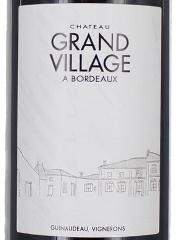 Chateau Grand Village 2006, JR 15.5, 1500ml - Pinewood Wine