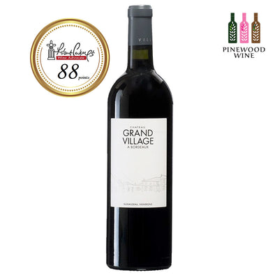 Chateau Grand Village 2009, RP 88 750ml - Pinewood Wine