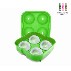 Ice tray 4 rocks-silicone & ABS