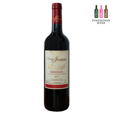 Chateau Jamin, Bordeaux, 2015, 750ml - Pinewood Wine