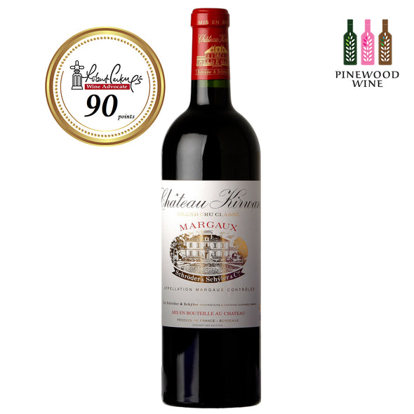 Kirwan Margaux 3eme Cru 2000 (OWC), RP 90 750ml - Pinewood Wine