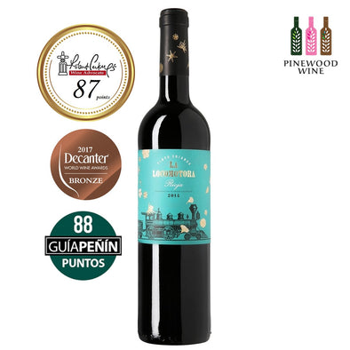 La Locomotora - Crianza 2014, RP 87 750ml - Pinewood Wine