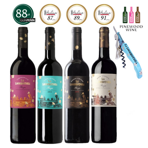 La Locomotora - Rioja Wine Experience Set, 4 X 750ml - Pinewood Wine