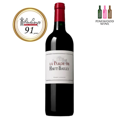 La Parde de Haut Bailly 2010, NM 91 750ml - Pinewood Wine