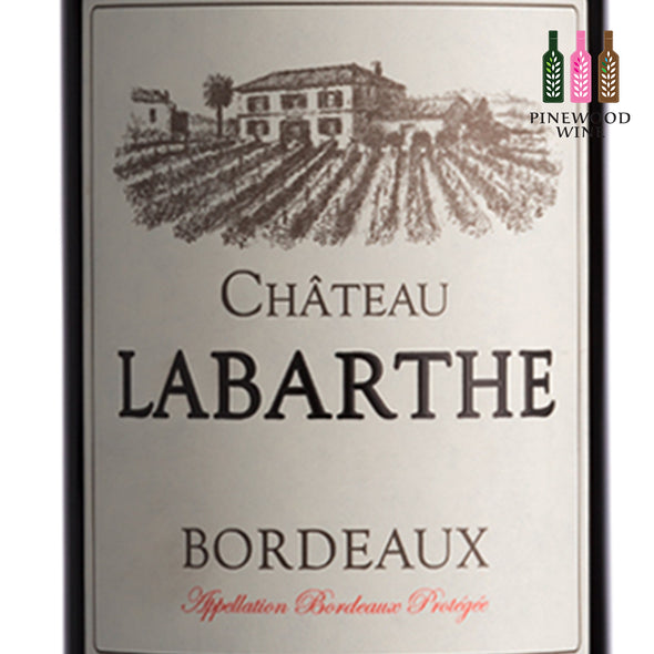 Chateau Labarthe, AOC Bordeaux 2016, 750ml - Pinewood Wine