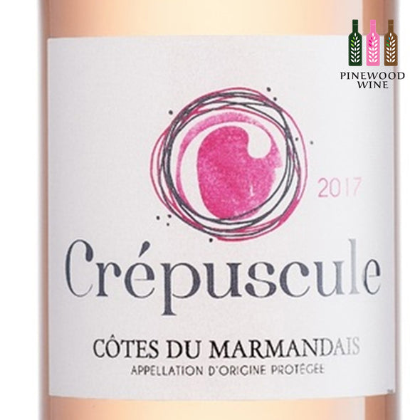 Crepuscule Rose, AOC Cotes du Marmandais 2018, 750ml - Pinewood Wine