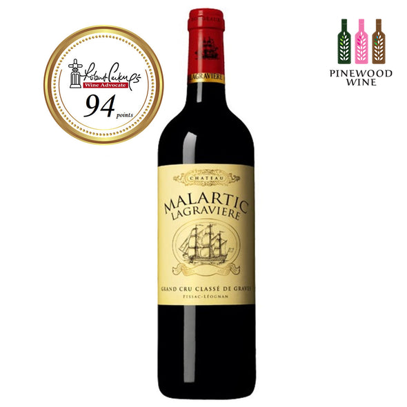 Chateau Malartic Lagraviere Pessac Leognan 2012 (OWC), RP 94 750ml - Pinewood Wine