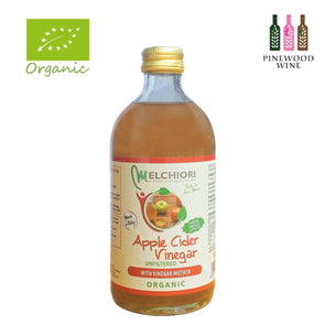 Melchiori - Organic Apple Cider Vinegar Unfiltered [520ml x 12]
