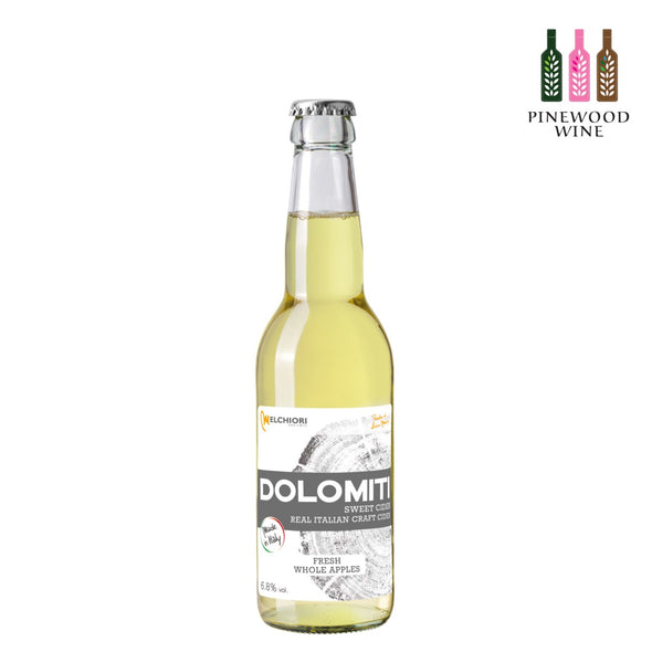 Melchiori Dolomiti Sweet Apple Cider 330ml x 12