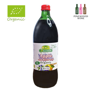 Melchiori - Organic Apple and Blueberry Juice [750ml x 12]