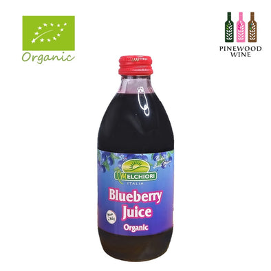 Melchiori - Organic Blueberry Juice [330ml x 12]