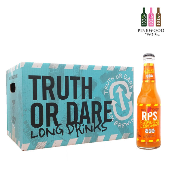 RPS Ruthless Lemonade Long Drink 330ml x 24/cs - Pinewood Wine